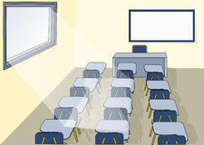 klassrum Arkivfoto