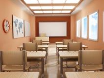 Klassrum med tomma platser Royaltyfri Foto