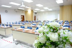 Klassrumet jagar utbildning Royaltyfri Fotografi
