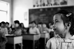 klassrumgrundskola för barn mellan 5 och 11 år Royaltyfria Foton