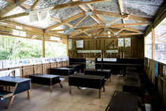 Klassrumgrundskola, Solomon Islands royaltyfria bilder