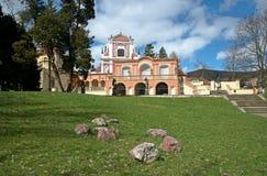 Klasterec nad Ohri, Czech republic Royalty Free Stock Photos