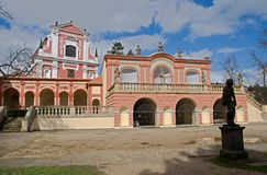 Klasterec nad Ohri, Czech republic Stock Image