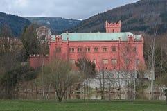 Klasterec nad Ohri, Czech republic Stock Photo