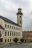 Klasterec nad Ohri town hall, Czrch republic Royalty Free Stock Photos