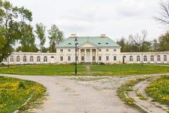 Klasycysty pałac w Bialaczow, Polska zdjęcia stock