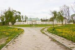 Klasycysty pałac w Bialaczow, Polska Fotografia Stock