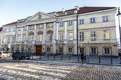 Klasycysty Raczynski pałac, Warszawa Obrazy Royalty Free