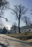 Klasycysty Teleki†'Tisza pałac w Nagykovacsi Zdjęcia Royalty Free