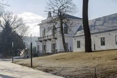 Klasycysty Teleki†'Tisza pałac w Nagykovacsi Zdjęcie Stock
