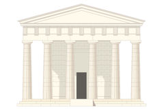 klasyczna świątynia Obrazy Stock