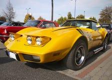 Klasyczna Amerykańska samochód korweta Zdjęcia Royalty Free