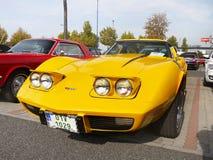 Klasyczna Amerykańska samochód korweta Zdjęcie Stock