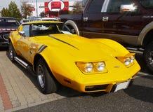 Klasyczna Amerykańska samochód korweta Fotografia Stock