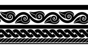 Klasyczna antyczna rzymianin granica royalty ilustracja