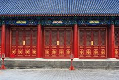 klasyczna architektura chińczycy Obraz Stock