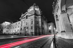 Klasyczna architektura w Praga zdjęcie royalty free