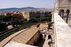 Klasyczna architektura w Rzym Fotografia Stock