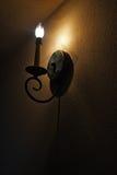 Klasyczna ścienna lampa Zdjęcie Stock
