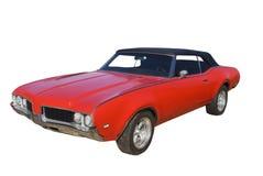 klasyczna coupe mięśnia czerwień Zdjęcia Royalty Free