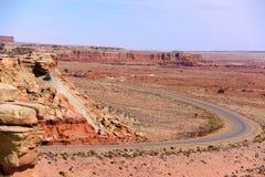 Klasyczna droga Od Salt Lake City Obrazy Royalty Free