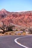 Klasyczna droga Salt Lake City Zdjęcia Royalty Free