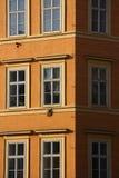 klasyczna fasada Zdjęcia Royalty Free