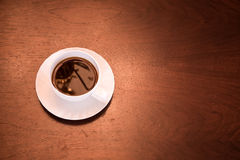 Klasyczna filiżanka kawy obraz royalty free
