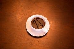 Klasyczna filiżanka kawy zdjęcie royalty free