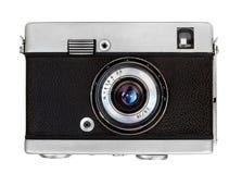Klasyczna frontowego widok kamera obraz stock