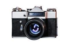 Klasyczna frontowego widok kamera zdjęcie stock