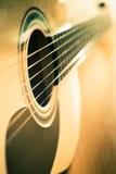 klasyczna gitara Obraz Stock