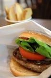 klasyczna hamburgera Obrazy Stock