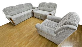 Klasyczna kanapa Zdjęcia Royalty Free