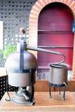 Klasyczna kawowa maszyna Fotografia Royalty Free