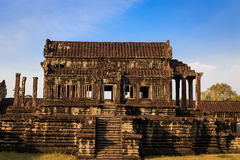 Klasyczna klauzura Angkor Wat Fotografia Royalty Free
