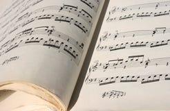 Klasyczna melodia, sztuki muzyka obraz royalty free