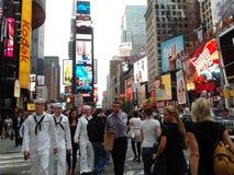 Klasyczna NYC scena Obraz Royalty Free