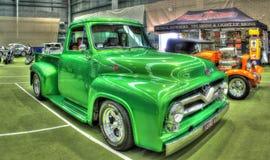 Klasyczna 1950s Ford F100 furgonetka Obraz Stock