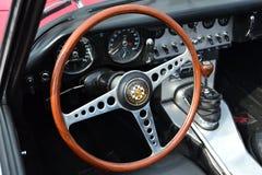 klasyczna samochodów koło kierownicy Obraz Royalty Free