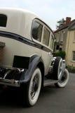 klasyczna samochodowy ślub obraz royalty free