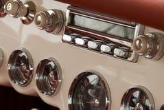 klasyczna samochodowy szczegół zdjęcia stock
