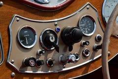 klasyczna samochodowy wnętrze Obraz Royalty Free