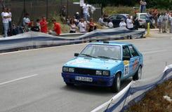 Klasyczna samochodu miejscowego rasa w Mallorca zdjęcie stock