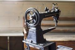 Klasyczna szwalna maszyna warsztat Obraz Stock