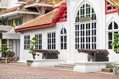 Klasyczna Tajlandzka architektura w muzeum narodowym Bangkok, Tajlandia Zdjęcie Royalty Free