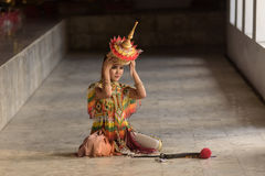 Klasyczna Tajlandzka melodia, Manohra fotografia royalty free