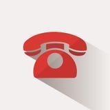 Klasyczna telefon ikona Zdjęcia Stock