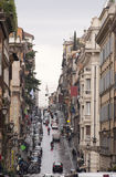 Klasyczna ulica Rome Fotografia Royalty Free