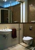 klasyczna w łazience fotografia stock